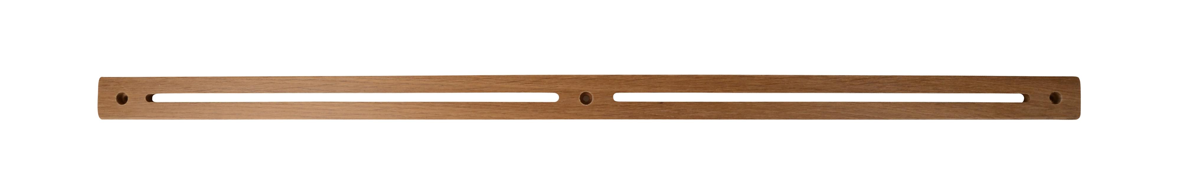 Image of   Træ knagerække - medium (Røget eg)