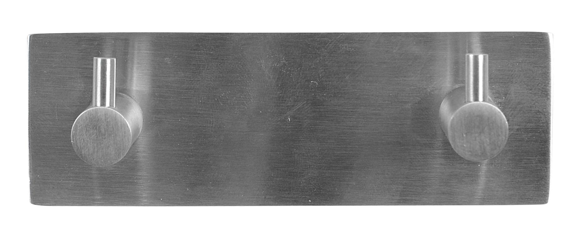 Image of   Knagerække-tap 2-kn - rustfri stål