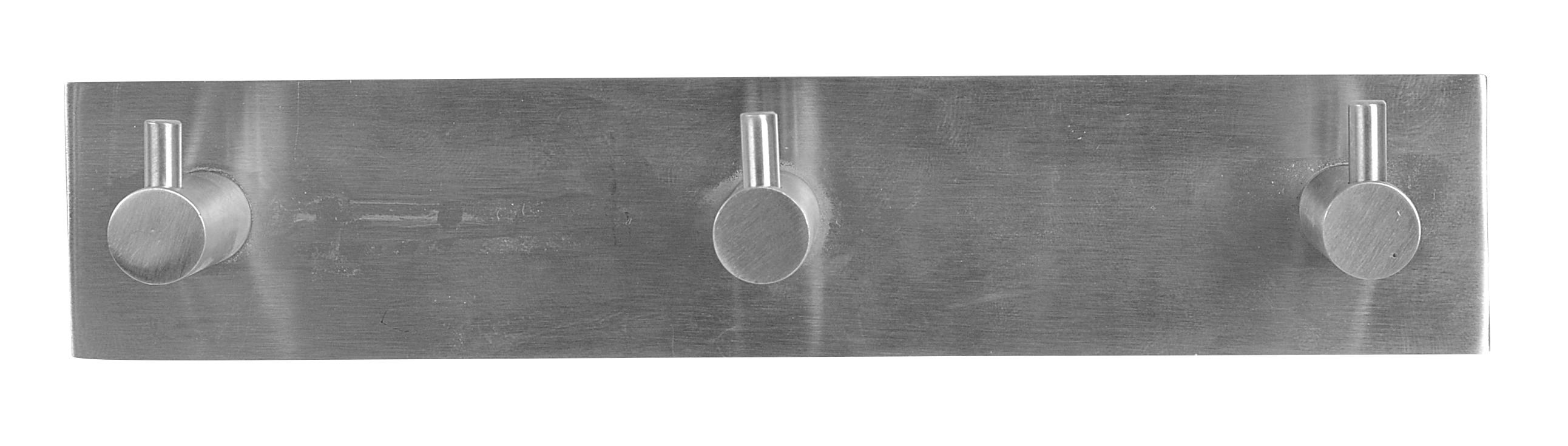 Image of   Knagerække-tap 3-kn - rustfri stål