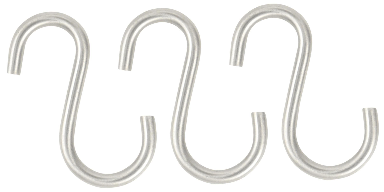 Image of   S-krog 3 stk. - rustfri stål