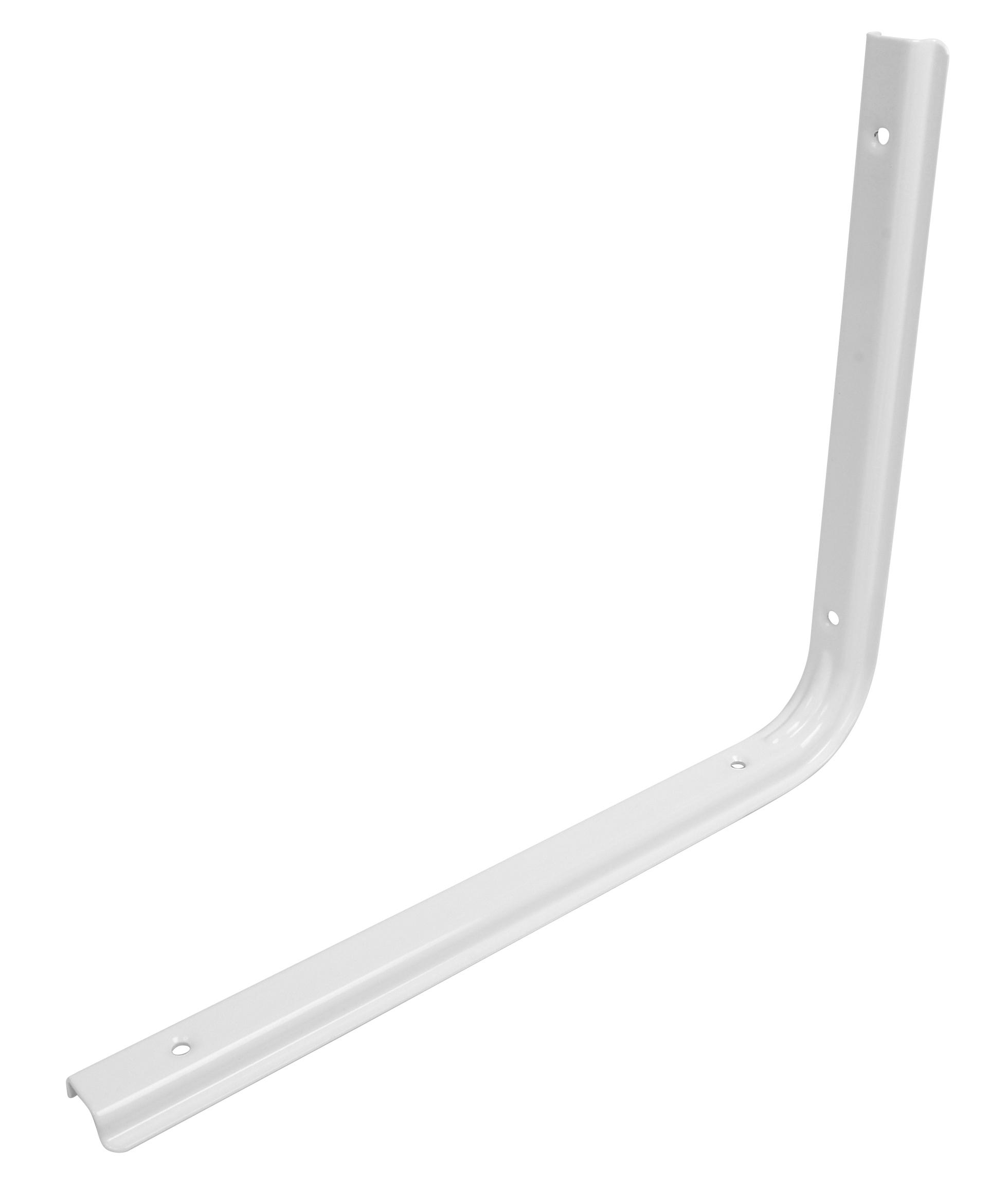 Image of   Hyldeknægt U-profil 250x300 mm. - hvid