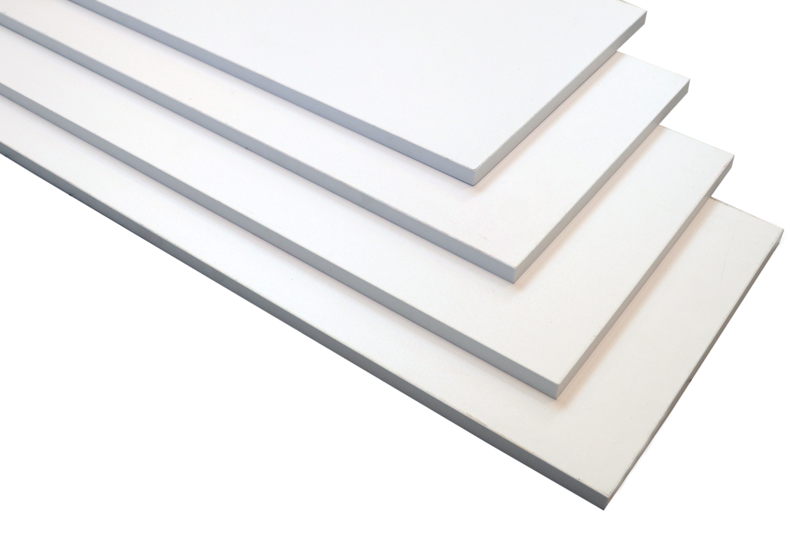 Image of   Hylde 60x30x1,5 cm. - hvid