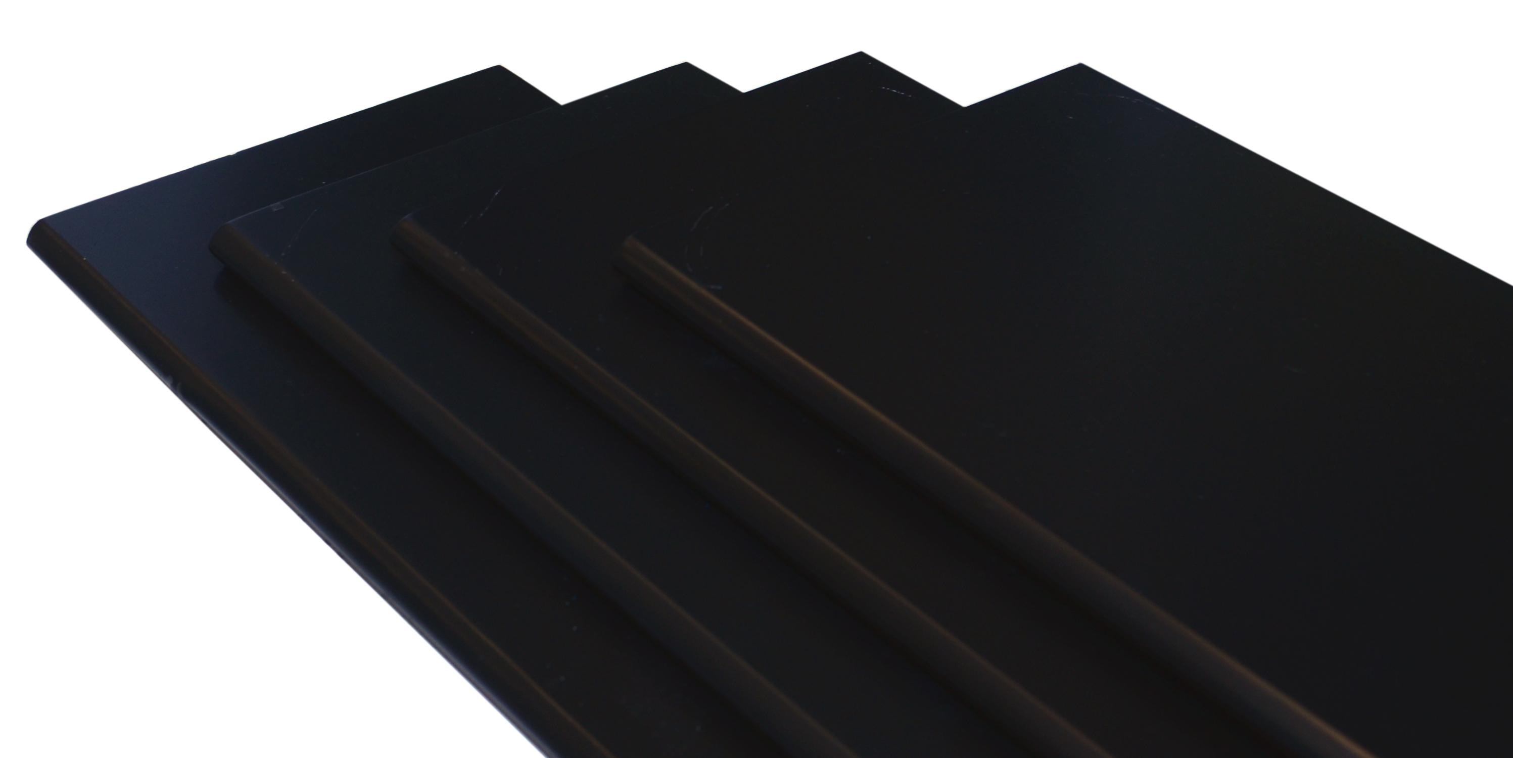 Image of   Hylde M-design 40x20x1,5 cm. - sort