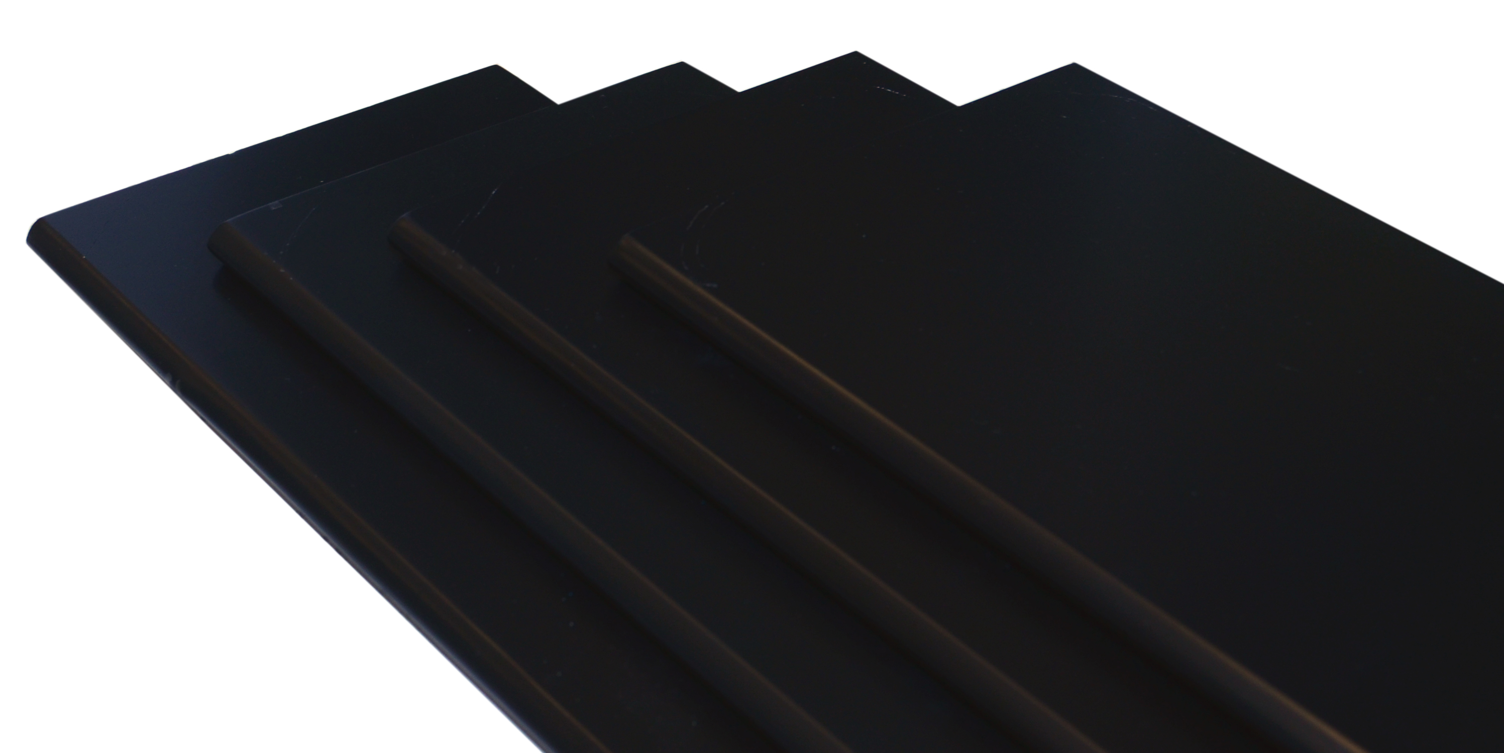 Image of   Hylde M-design 100x20x1,5 cm. - sort