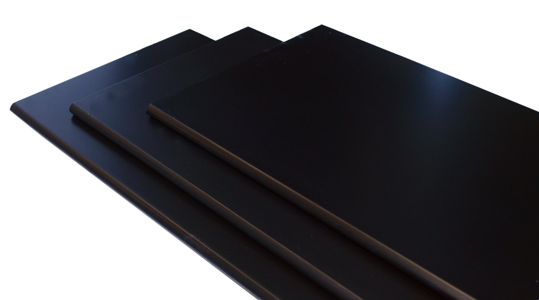 Image of   Hylde M-design 100x30x1,5 cm. - sort