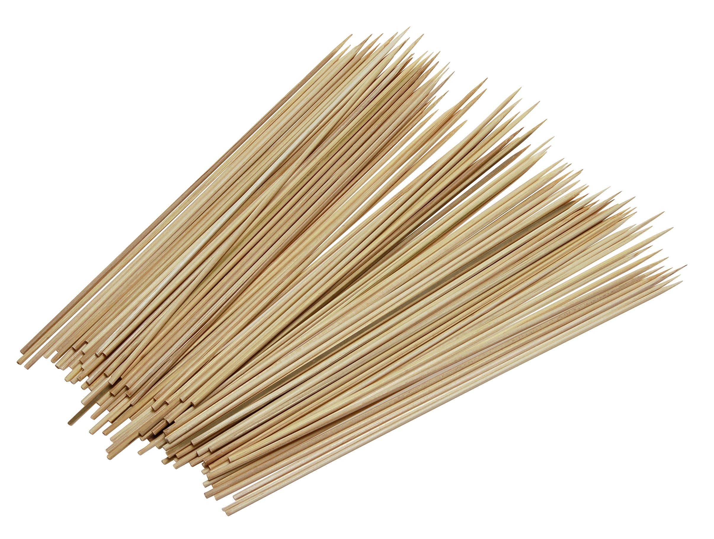 Image of   Grillspyd bambus 100 stk.