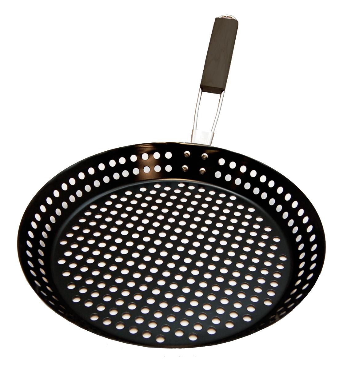 Image of   Grill stegepande med huller