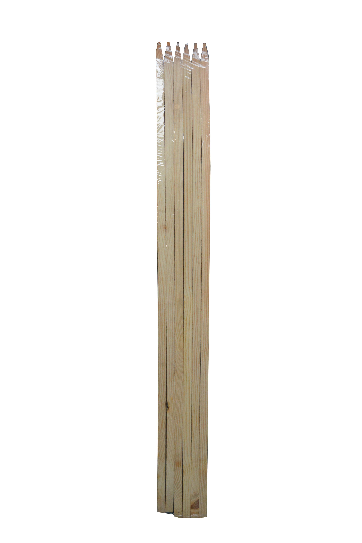 Image of   Blomsterpinde Hardwood-120 cm. - 5pk.