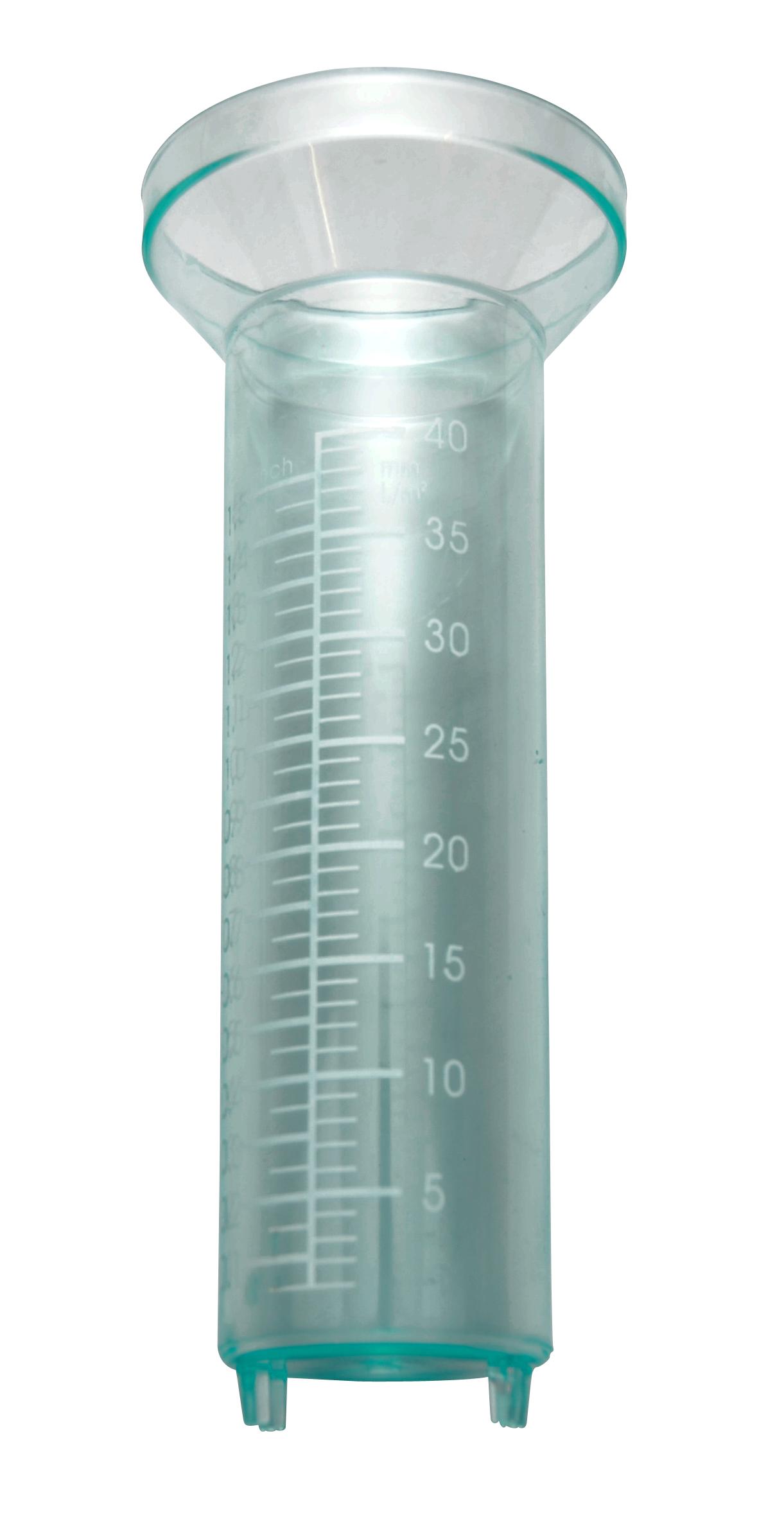 Image of   Glas til regnmåler