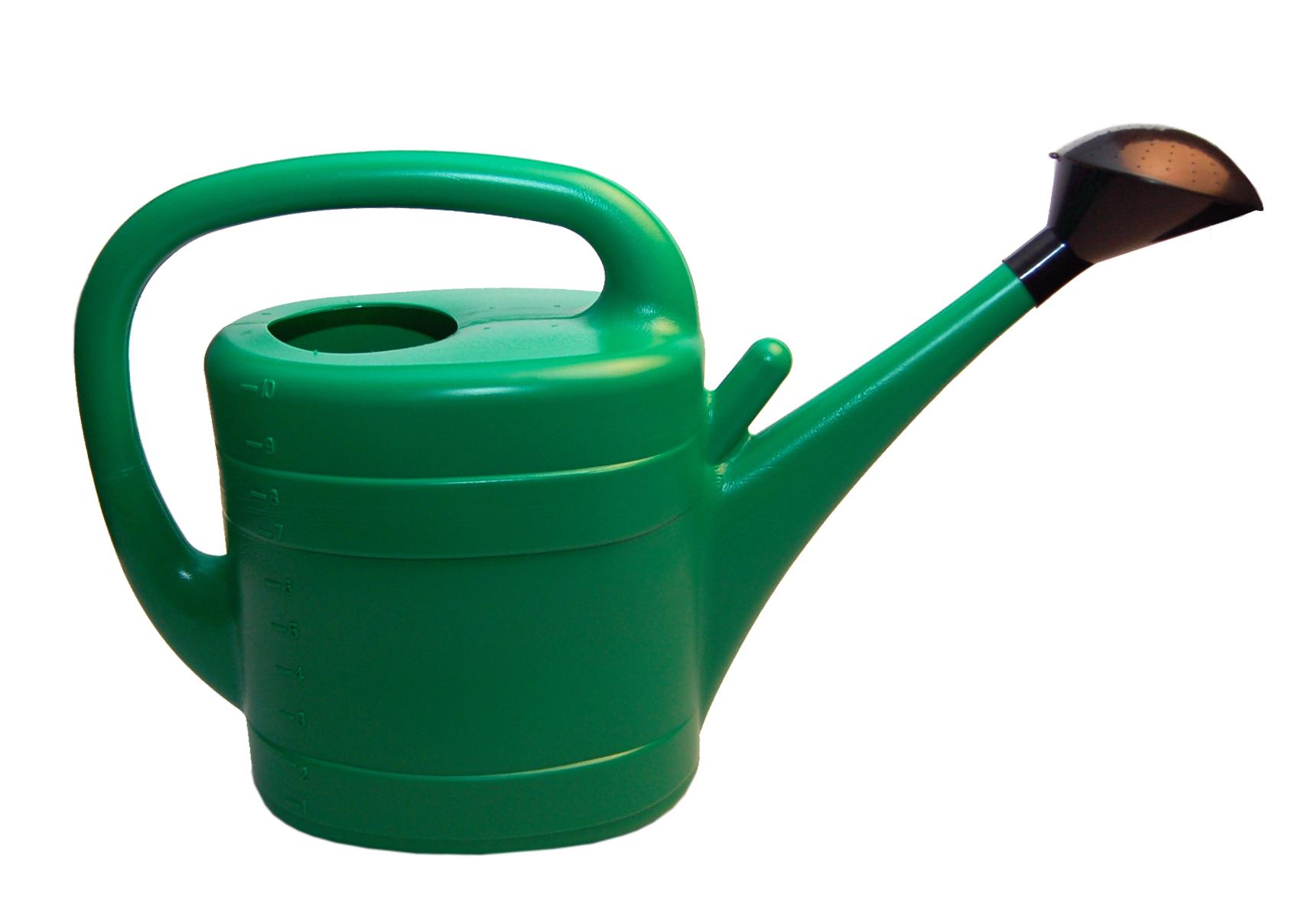Vandkande 10 L. - Grøn