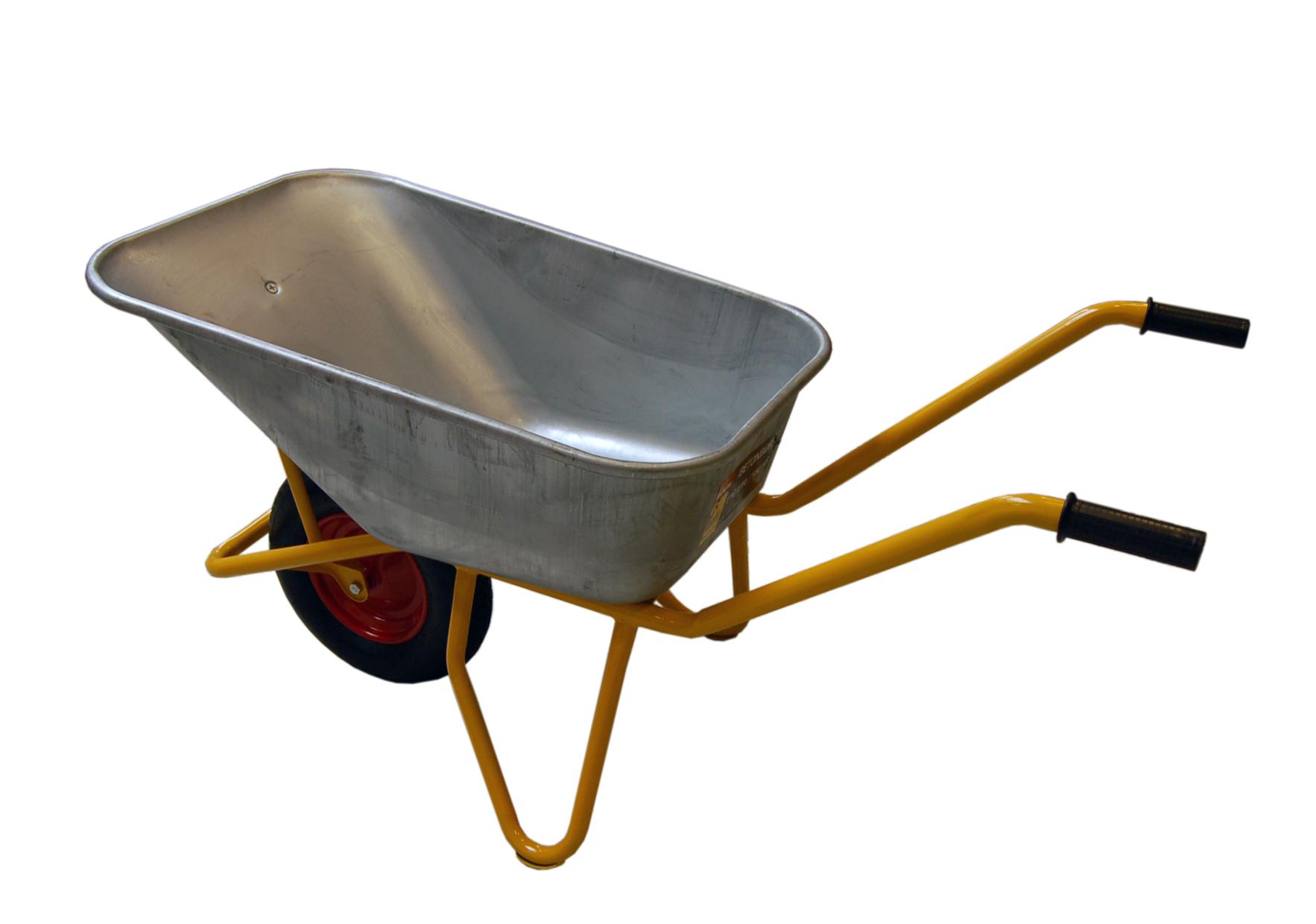 Image of   Betonbør 110 l. - Luft hjul
