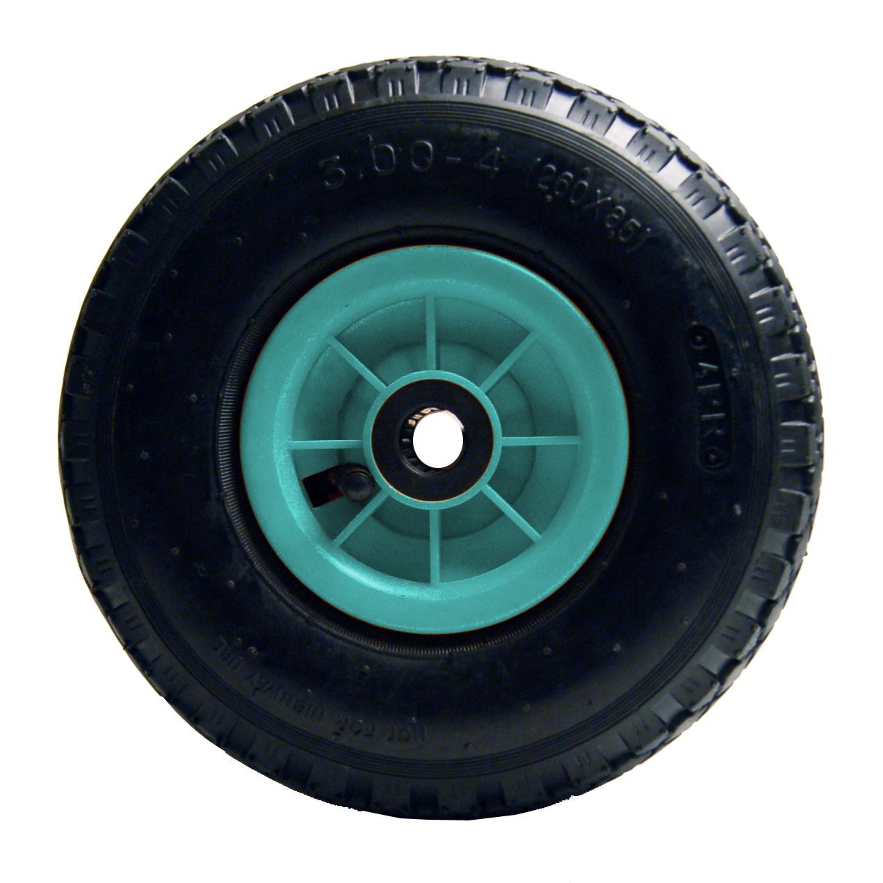 """Hjul luftgummi 3,00x4"""" - ABS fælg, 150 kg."""