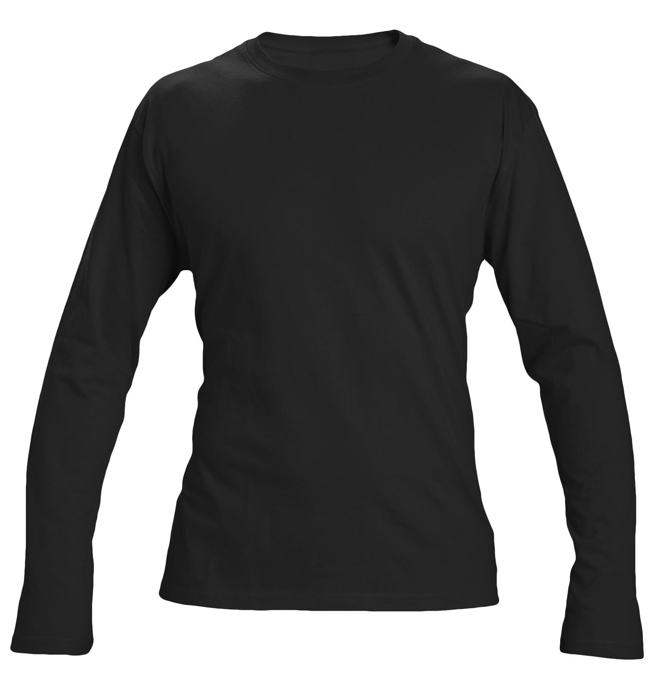 Image of   T-shirt Cambon langt ærme