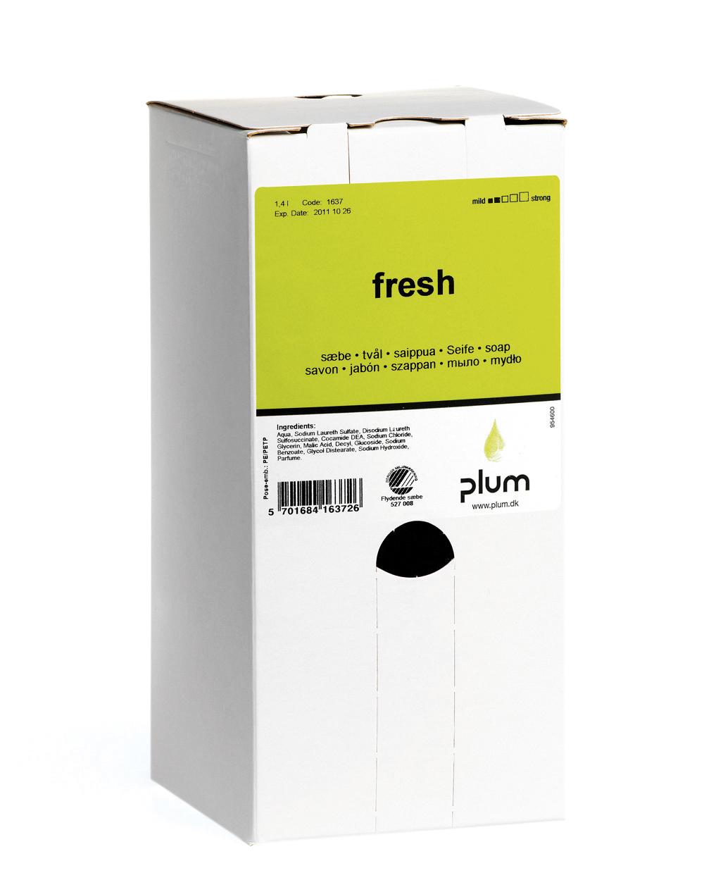 Image of   Sæbe Plum Fresh 1,4 l