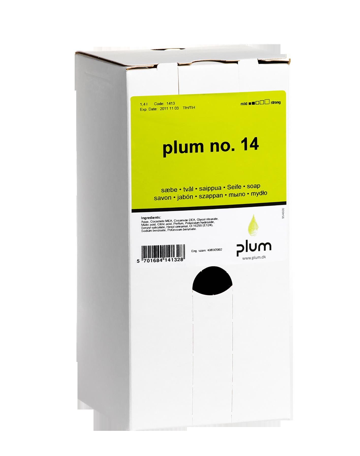 Image of   Sæbe Plum no.14, 1,4 l