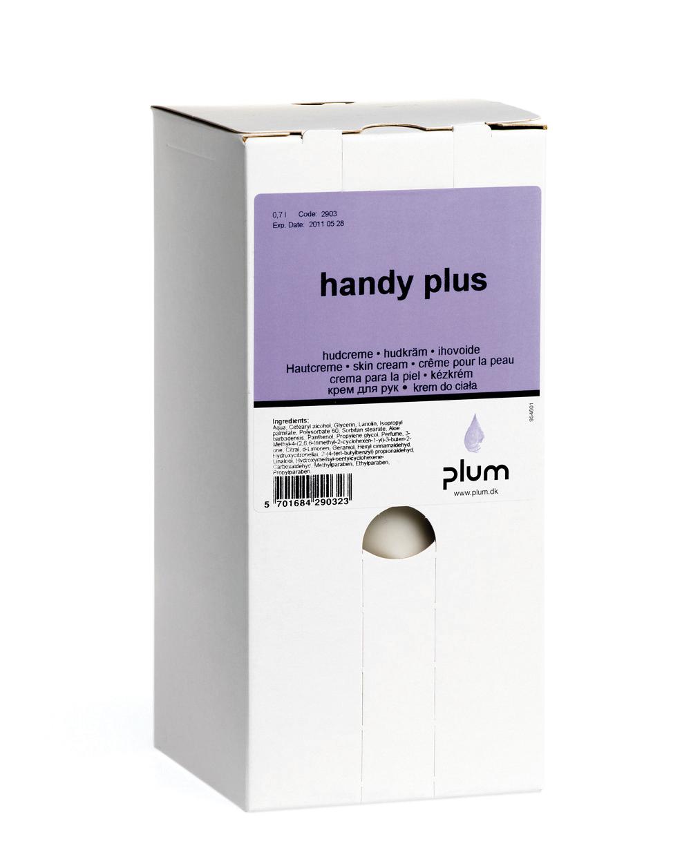Image of   Hudpleje Plum Handy Plus