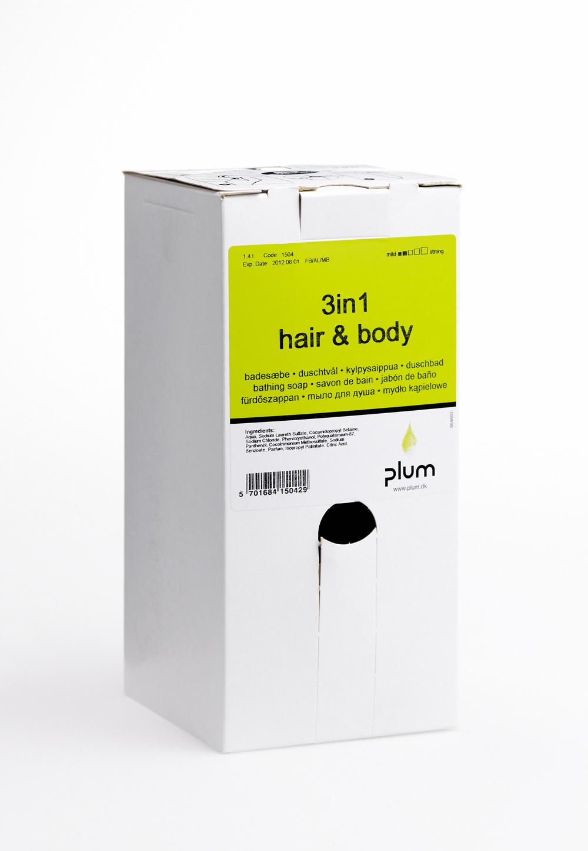 Image of   Sæbe Plum 3IN1 Hair & Body