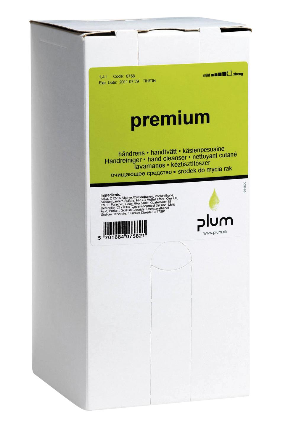 Image of   Håndrens Plum Premium 1,4 l
