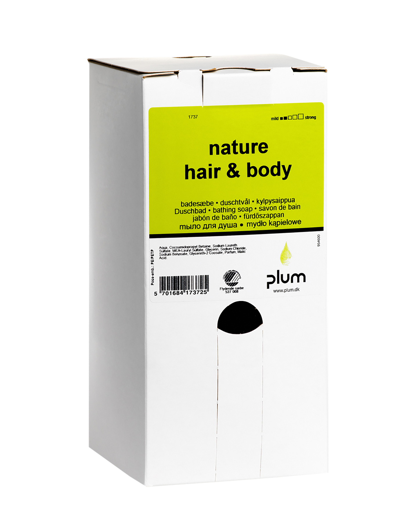 Image of   Sæbe Plum Nature Hair & Body