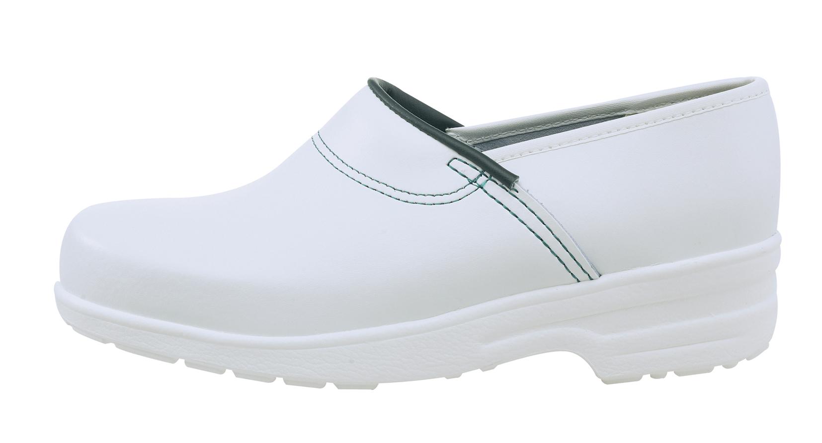 Træsko HKSDK m/k u/si hvid N86