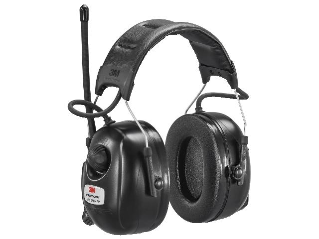 Høreværn med DAB+ radio Peltor hrxd7a-01