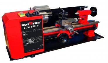 Image of   Drejebænk EDM 350 BL Rotwerk med forstærket motor