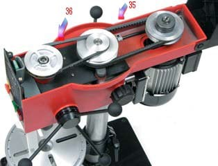 Kilerem Rotwerk til RB18 søjleboremaskine