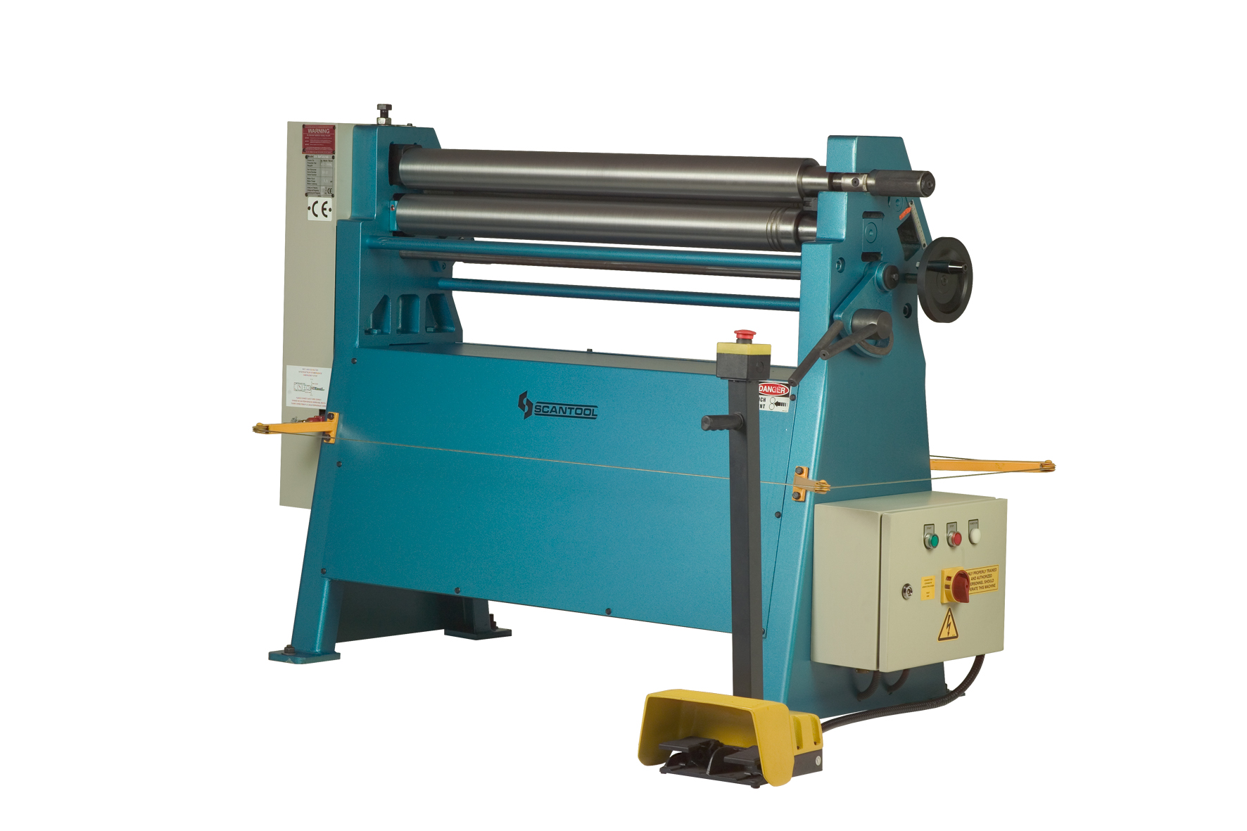 EBR 2050x1,5 Scantool motoriseret pladevalse