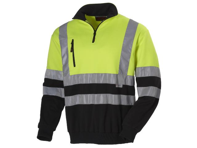 Sweatshirt L.Brador 285P med reflekser EN471 klasse 1