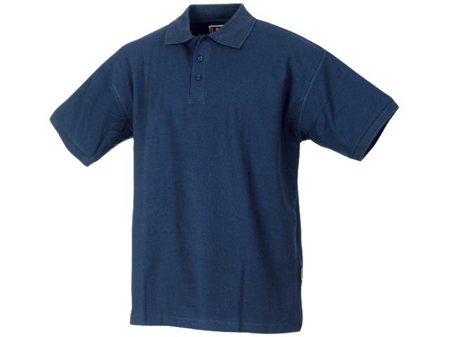 Image of   Poloshirt L.Brador 635B ensfarvet bomuld