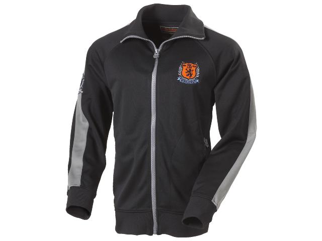 Image of   Sweatshirt med lynlås L.Brador 649PB Sort/Grå