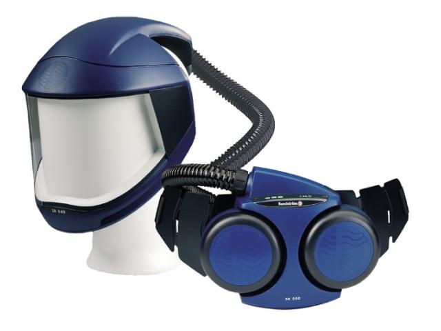 Image of   Komplet åndedrætsværn med motor og skærm sr 500 og sr 570
