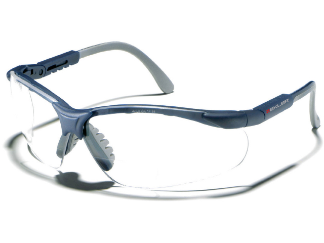 Sikkerhedsbriller Zekler 55 med styrke