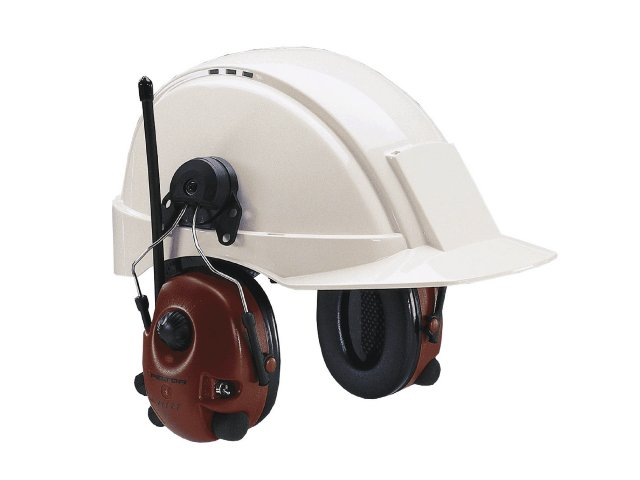 Image of   M2RX7P3E Peltor Alert høreværn til hjelm med medhør