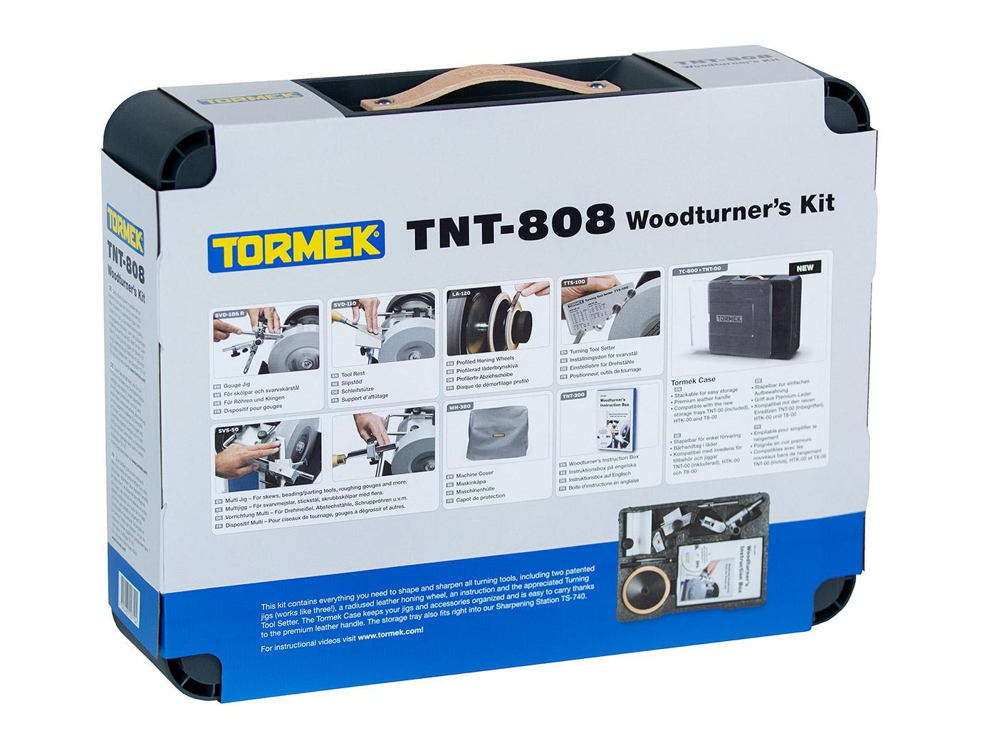 Image of   TNT-808 Tormek Drejepakke