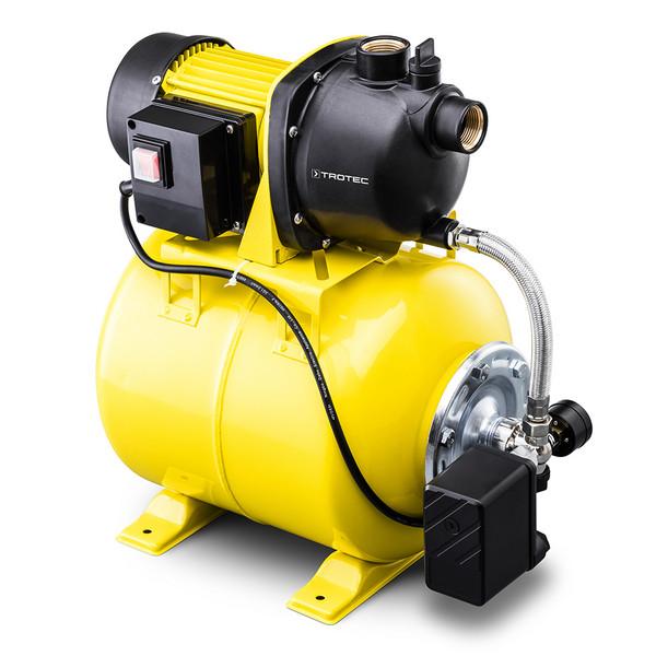 Billede af TGP1025(KS801/22) Husvandværk med selvansugende pumpe.