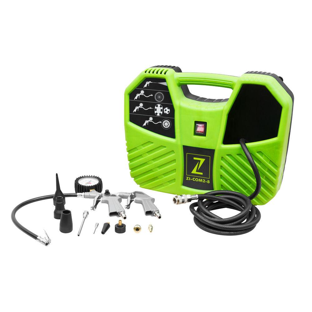 Image of   ZI-COM2-8 Mobil, oliefri kompressor Zipper