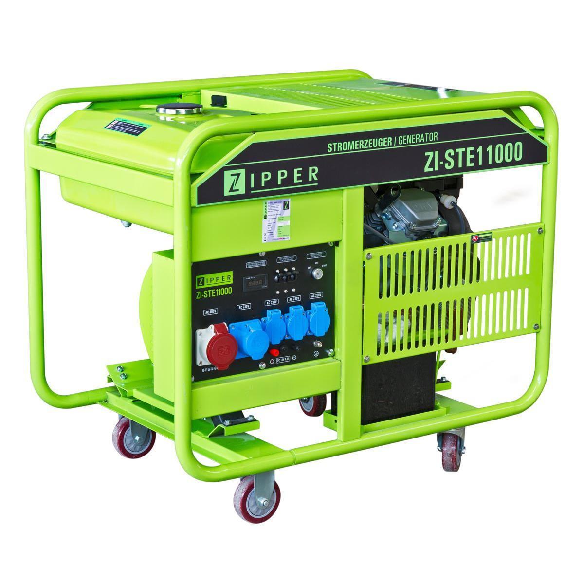 Image of   ZI-STE11000 Generator Zipper med elstart