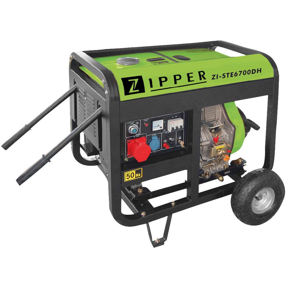 Image of   ZI-STE6700DH Diesel Generator Zipper