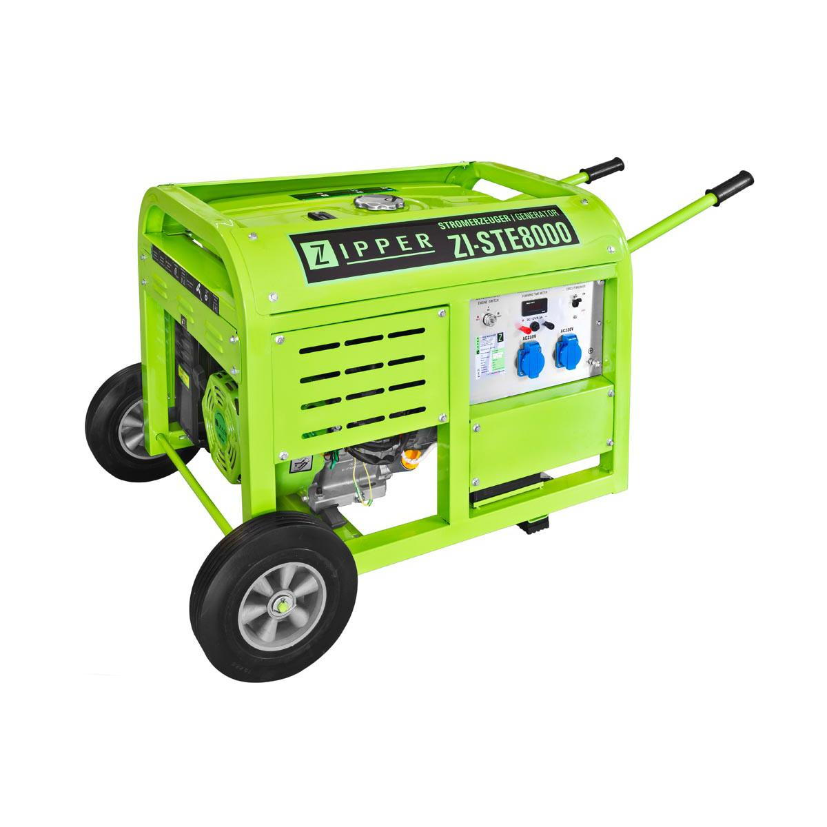 Image of   ZI-STE8000 Generator med el-start