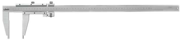 Værkstedsskydelære 1500x150mm