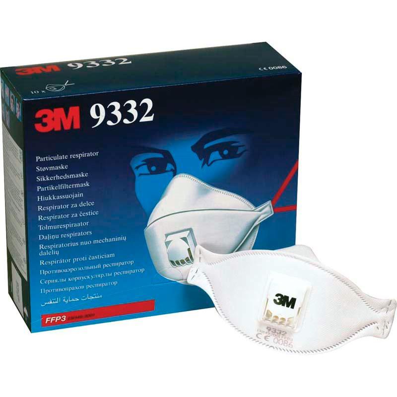 Image of   Filtermaske 3M FFP3 m/ventil 9332