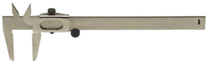 Lommeskydelære 150mm plåt