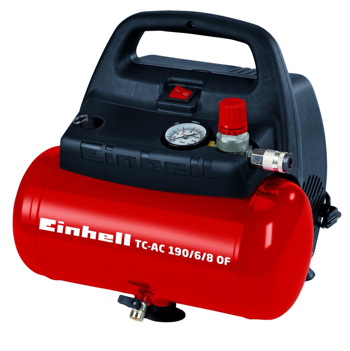 Kompressor 6 liter / 8 bar - TC-AC 190/6/8 OF