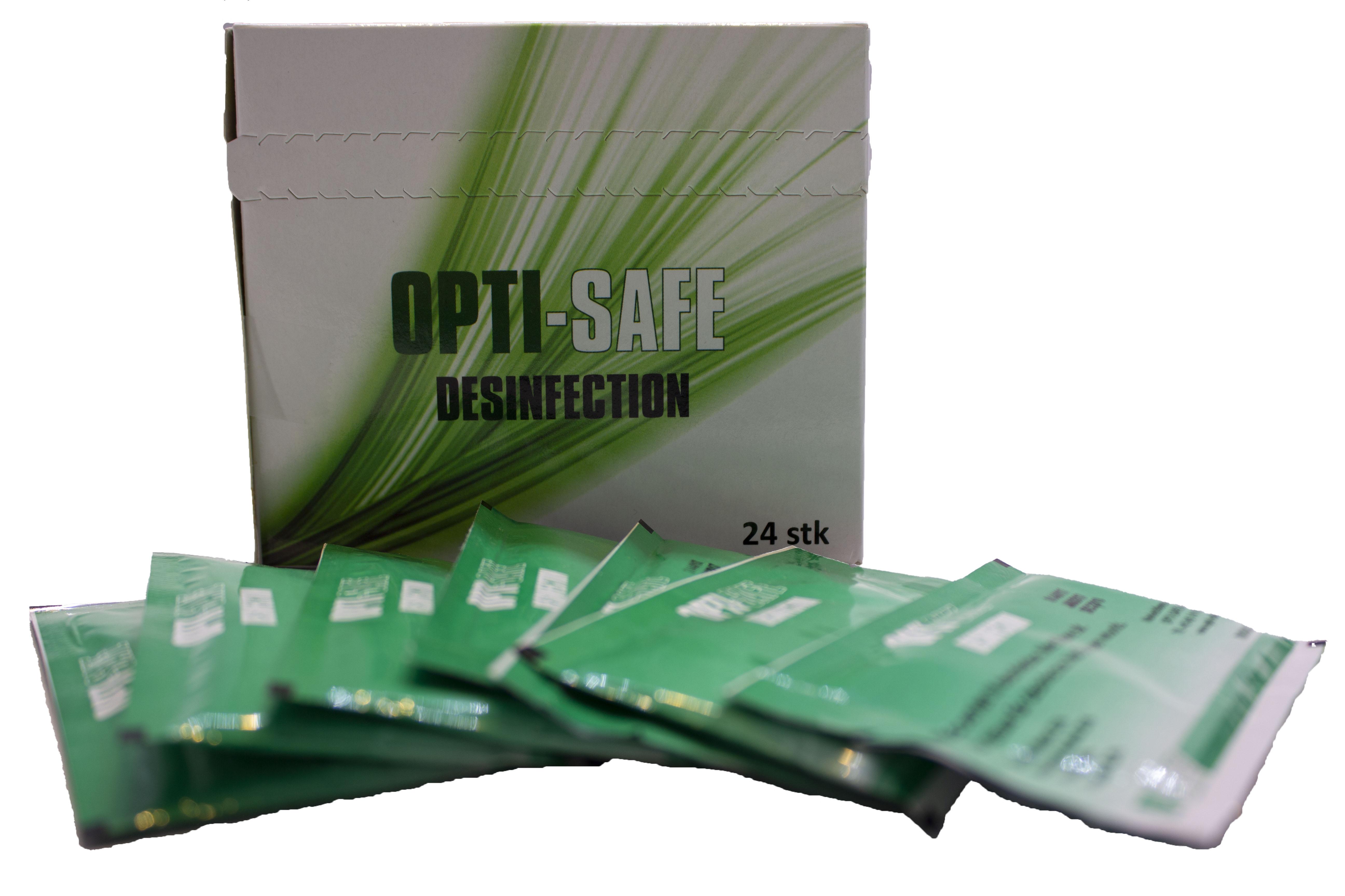 Image of   Desinfektionservietter, til hænder og overflader 24 stk