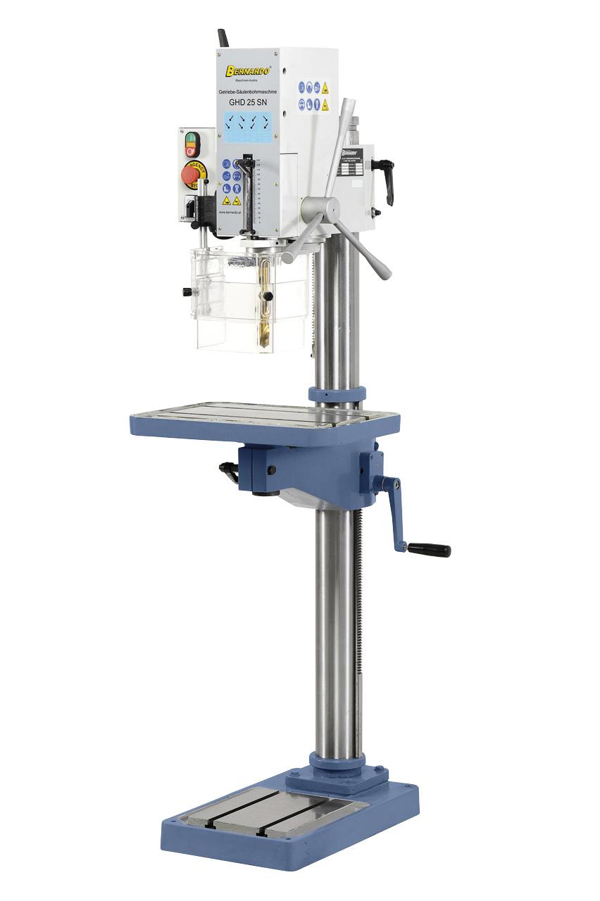 GHD 25 SN geardrevet søjleboremaskine