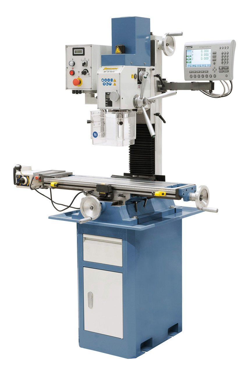 Image of   BF 35 Vario incl. feed and 3-axis digital readout