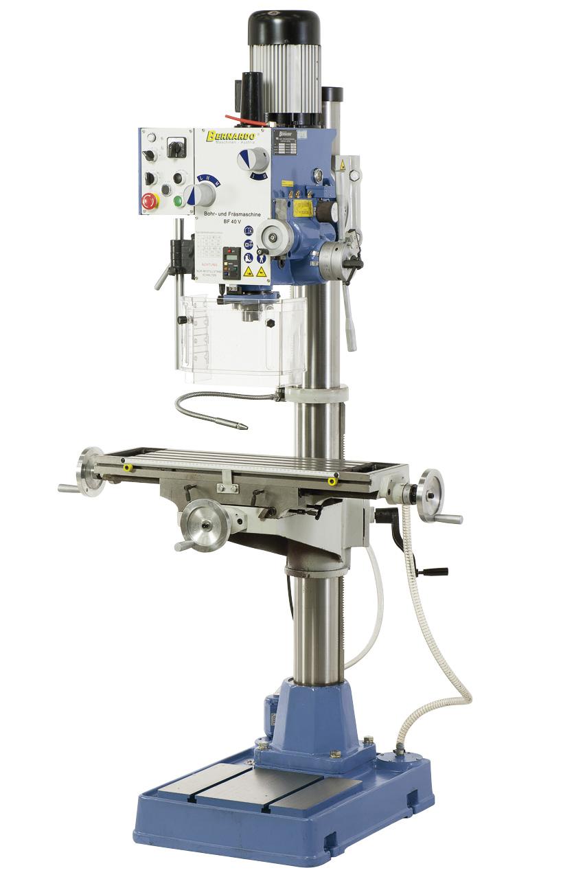 Bore-fræsemaskine med automatisk tilspænding BF40V