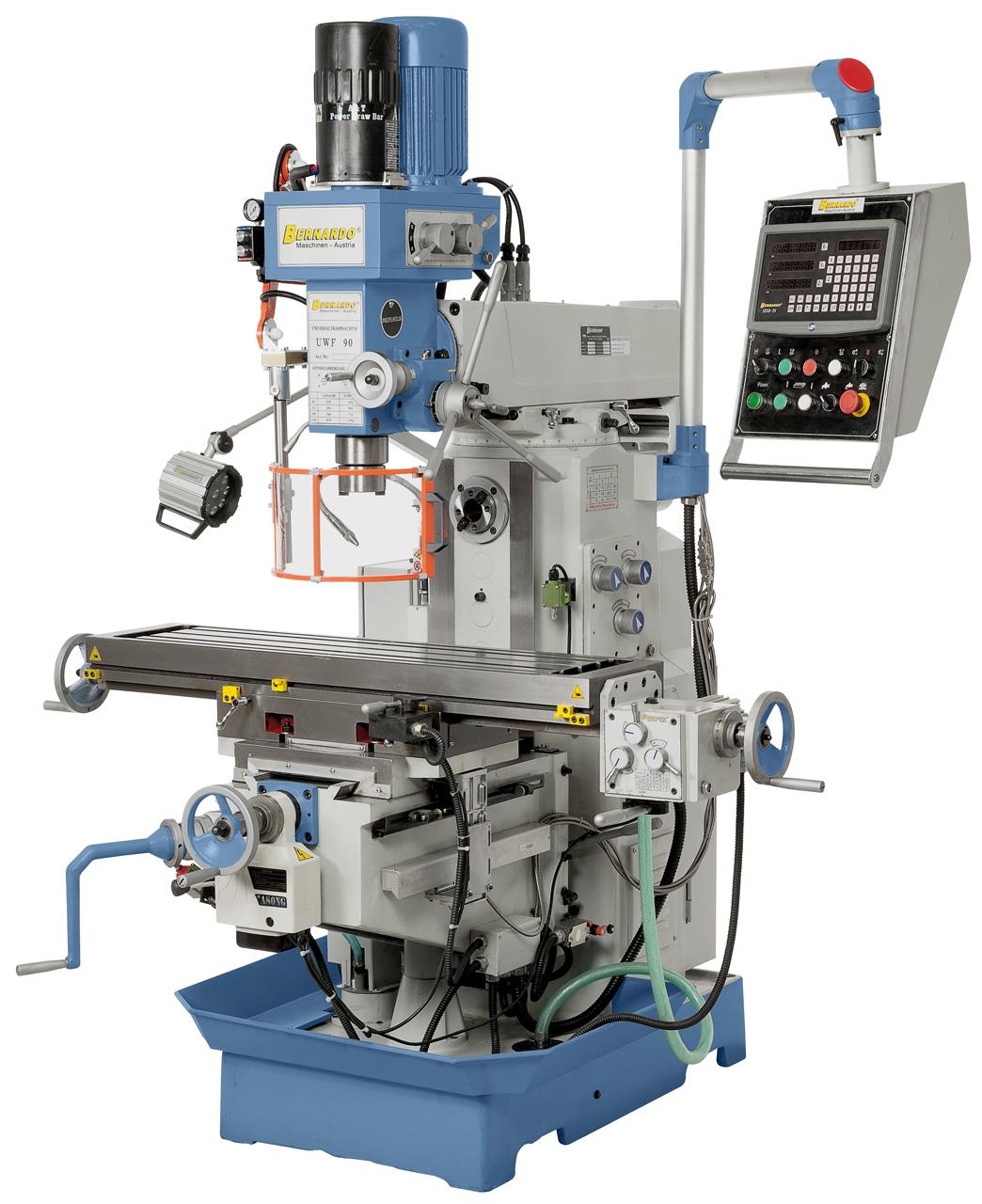 Image of   UWF 90 Universalfræsemaskine med digital aflæsning
