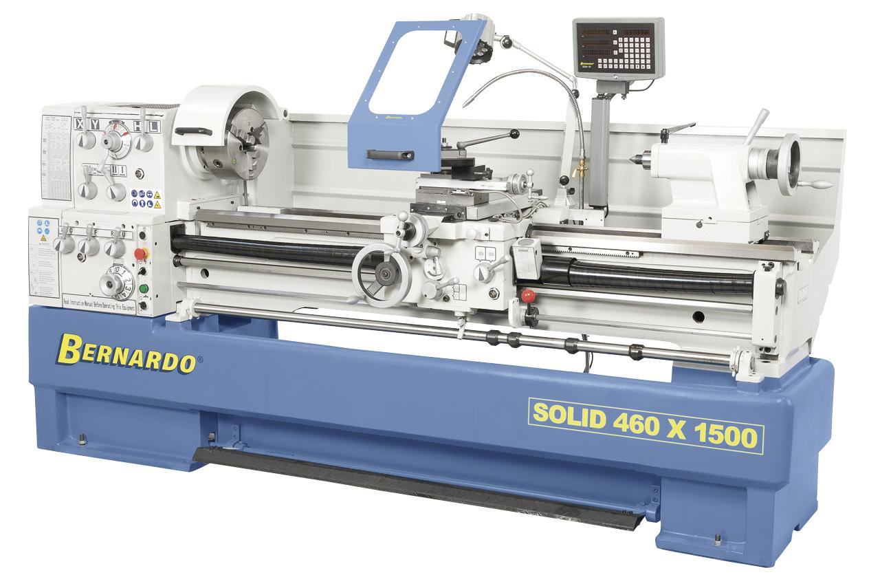 Solid 460 x 1500 produktionsdrejebænk